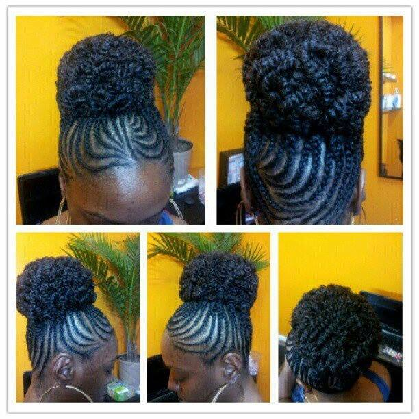 afro natural hair braids cane rolls (22)