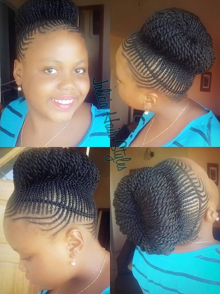 afro natural hair braids cane rolls (57)