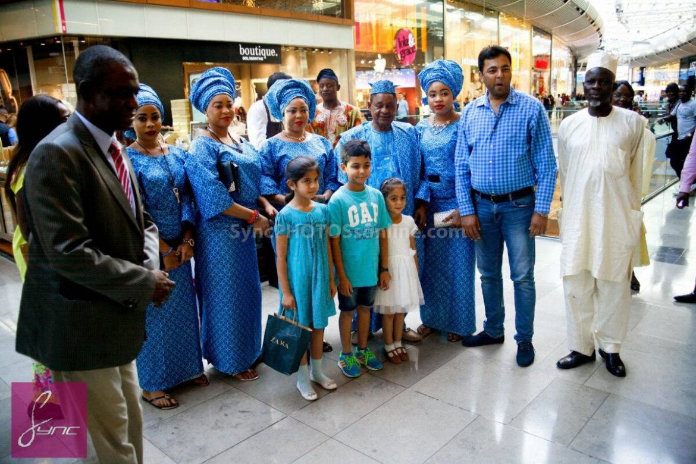 Alaafin of Oyo_Oba Lamidi Olayiwola  Wives_Westfield London (1)