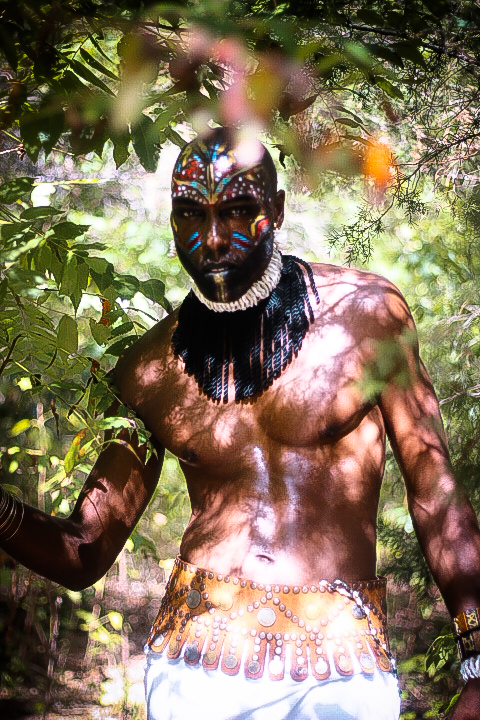 african tribal make up for men african fashion shoot fashionghana (11)