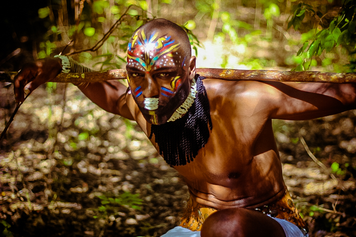 african tribal make up for men african fashion shoot fashionghana (4)