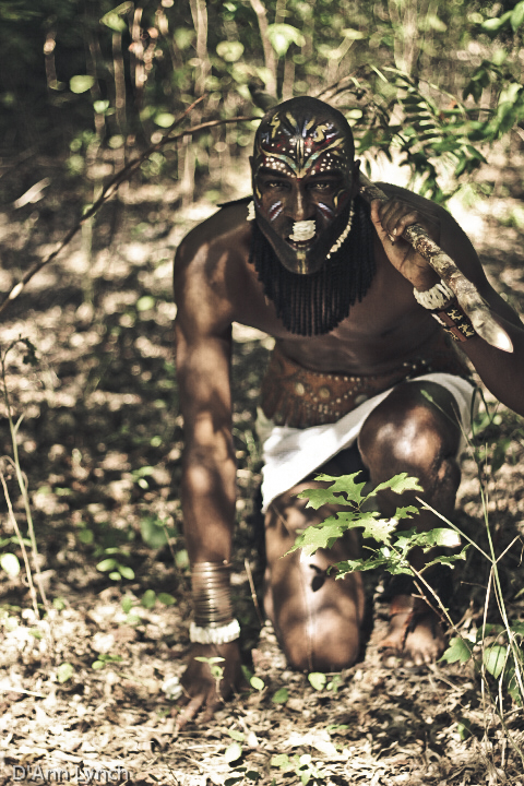 african tribal make up for men african fashion shoot fashionghana (7)