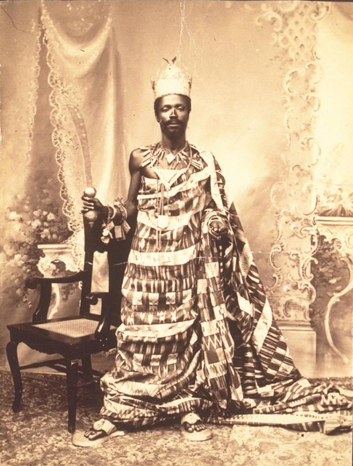 19th 20th century pictures of kings in ghana (7)