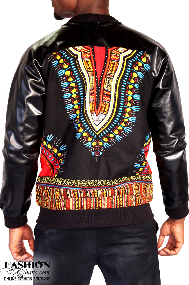 Angelina Print / Dashiki Bomber Jacket