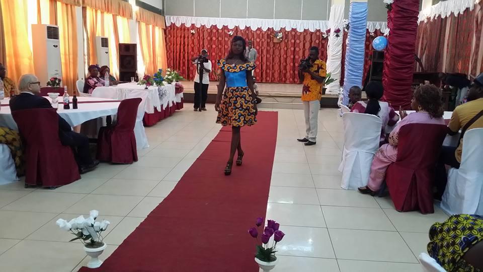 central african republic fashion show Diane Graziella Kpefio (6)
