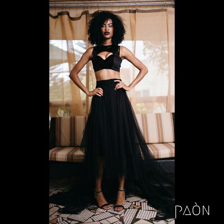 house of paon fashionghana african fashion look book (1)