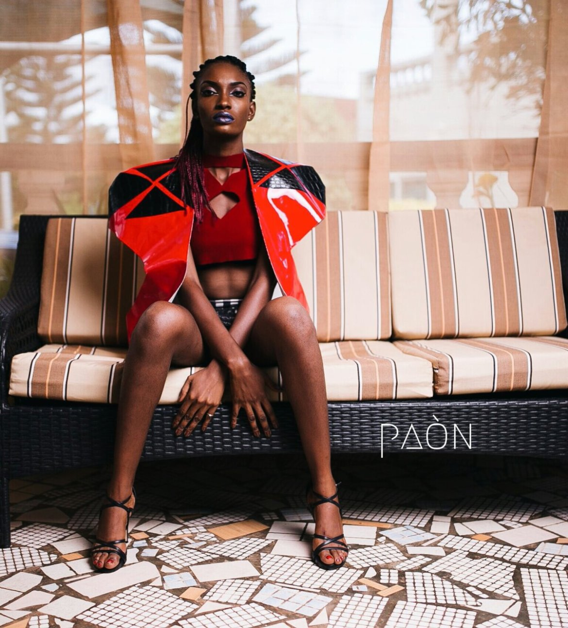house of paon fashionghana african fashion look book (17)