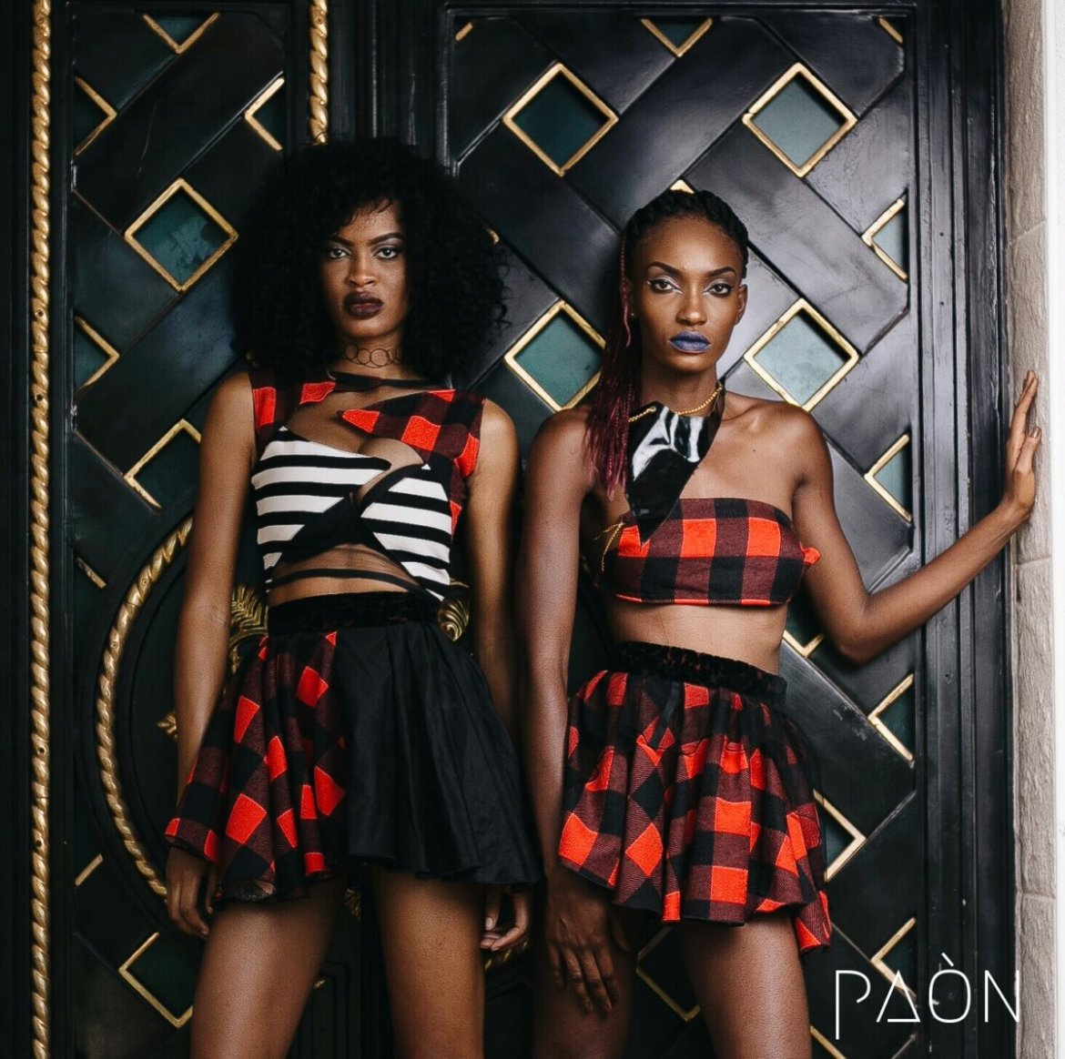 house of paon fashionghana african fashion look book (27)