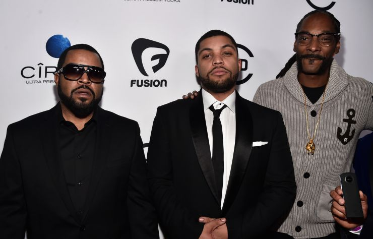 Ice Cube & Son & Snoop Dogg