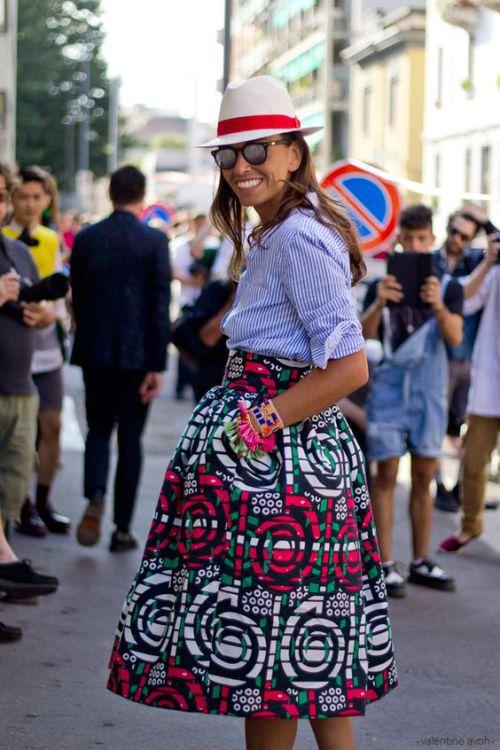 african print maxi skirt (3)