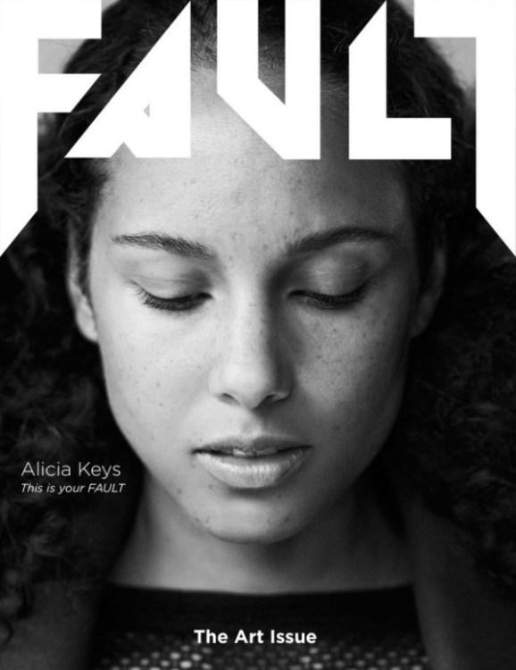 fault magazine make up alecia keys (1)