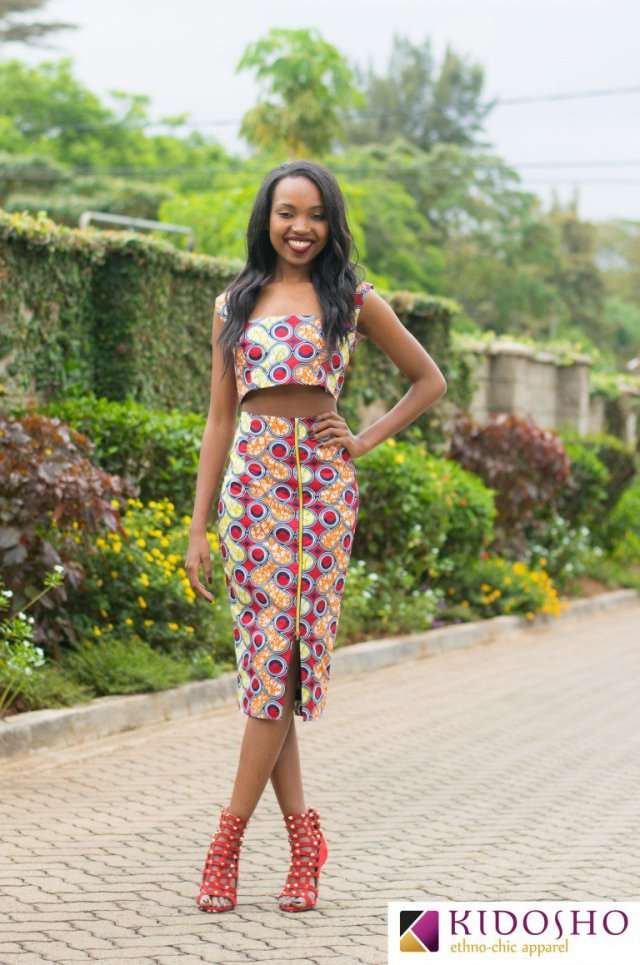 pencil skirt print african fashion (4)