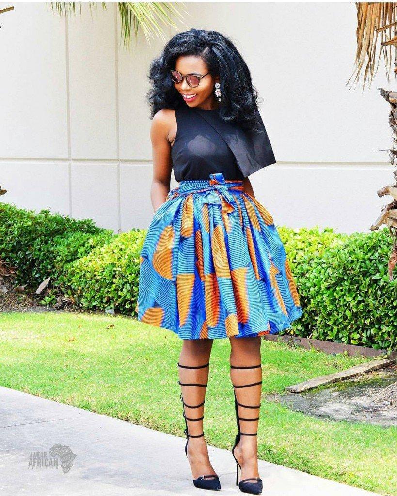 ankara-flare-skirt