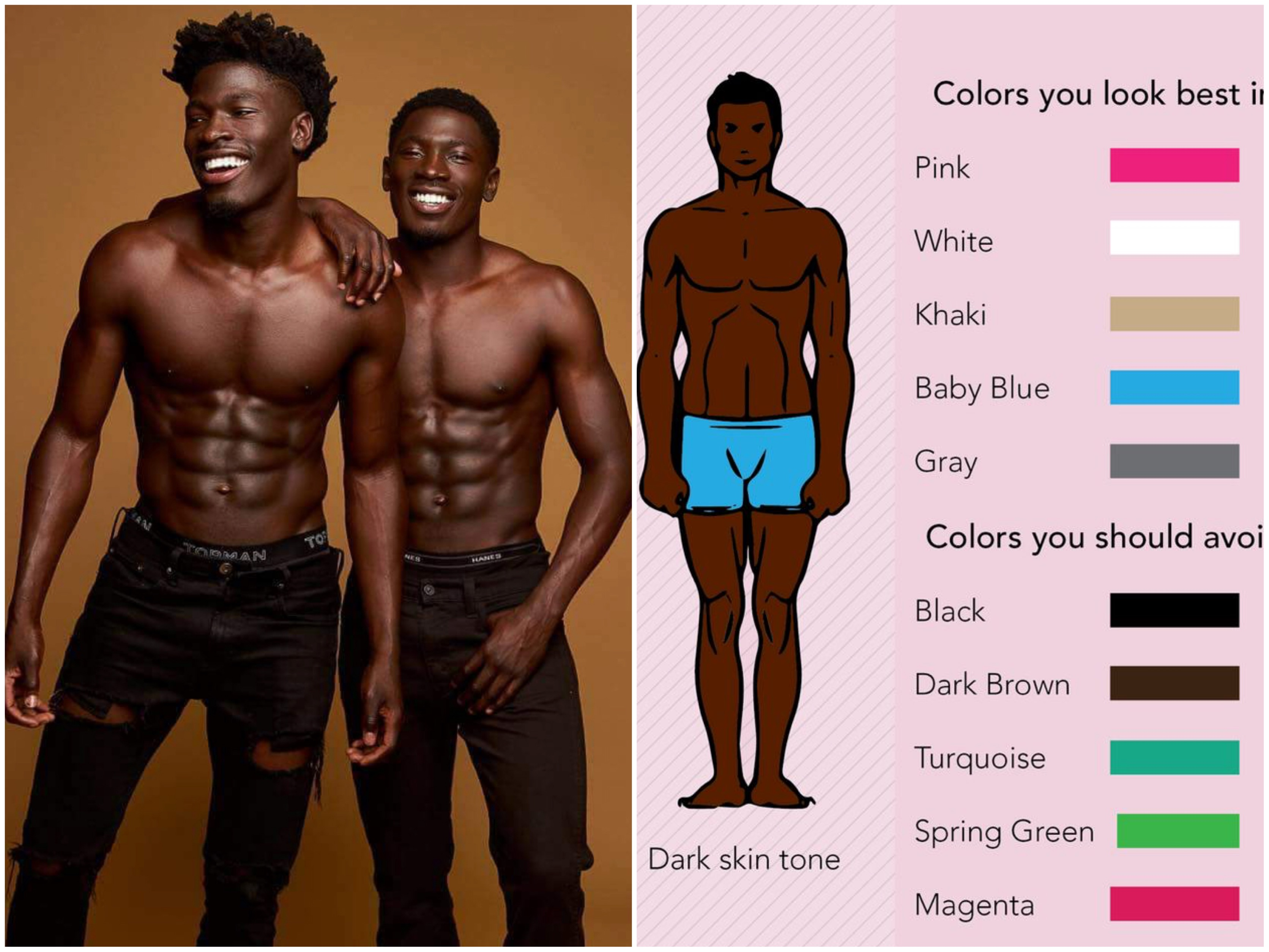 Best Color Clothes For Brown Skin