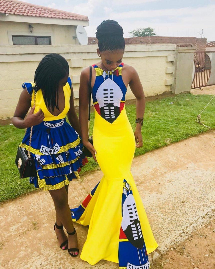 Yellow Dress Cape