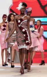 See The Stunning Wedding Guest Collection Boatema Wiredu Rocked The FIMA Runway With