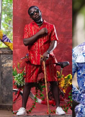#HOTSHOTS: Ghanaian Singer Bisa Kdei Gets Woodin'ed Up In New African Print Shoot By TwinzDntBeg