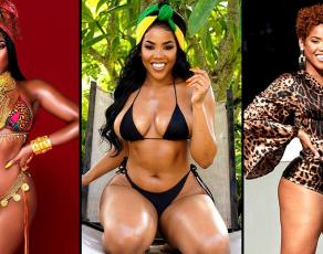 #BIKINIBAE: Jamaican Swimwear CEO Jess Lee Wong Stuns In Haute Fabulous Swimwear Images