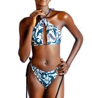 Pelliguen Adjustable Peekaboo 2 Piece Swimwear