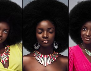 #HOTSHOTS: Angolan Beauty Mrs Cadete Is Definitely Inspiring Ladies To Grow The Fro With These Beautiful Looks