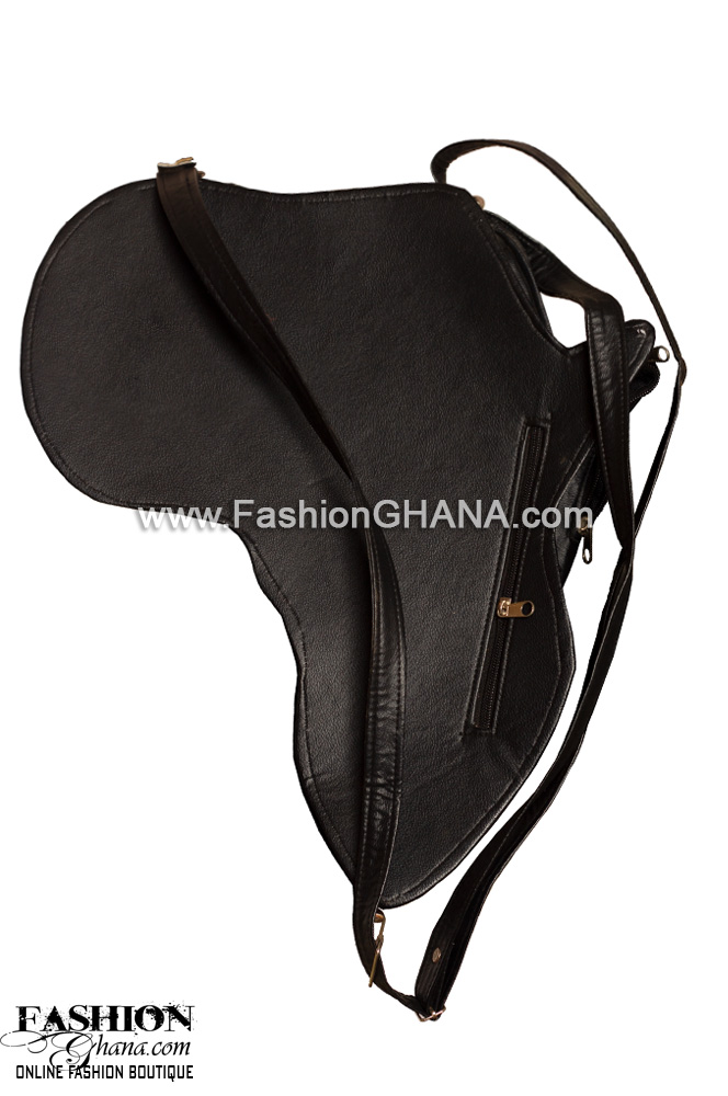 Large Leather Africa Back Pack Bag