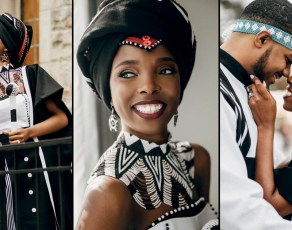 PICS: South African Xhosa Brides Are Not Just Stylish, Here Is A Meaningful Break Down Of Each Garment On This Couple