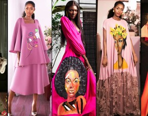 Ivorian Designer Simone Et Elise Captivates Fashionistas With Her Spectacular Ebony Face-Art Collection
