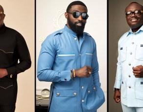 Bola Ray & Kojo Jones Stun In The New 'Sunrise' Collection By Menswear Brand Black & Phamous