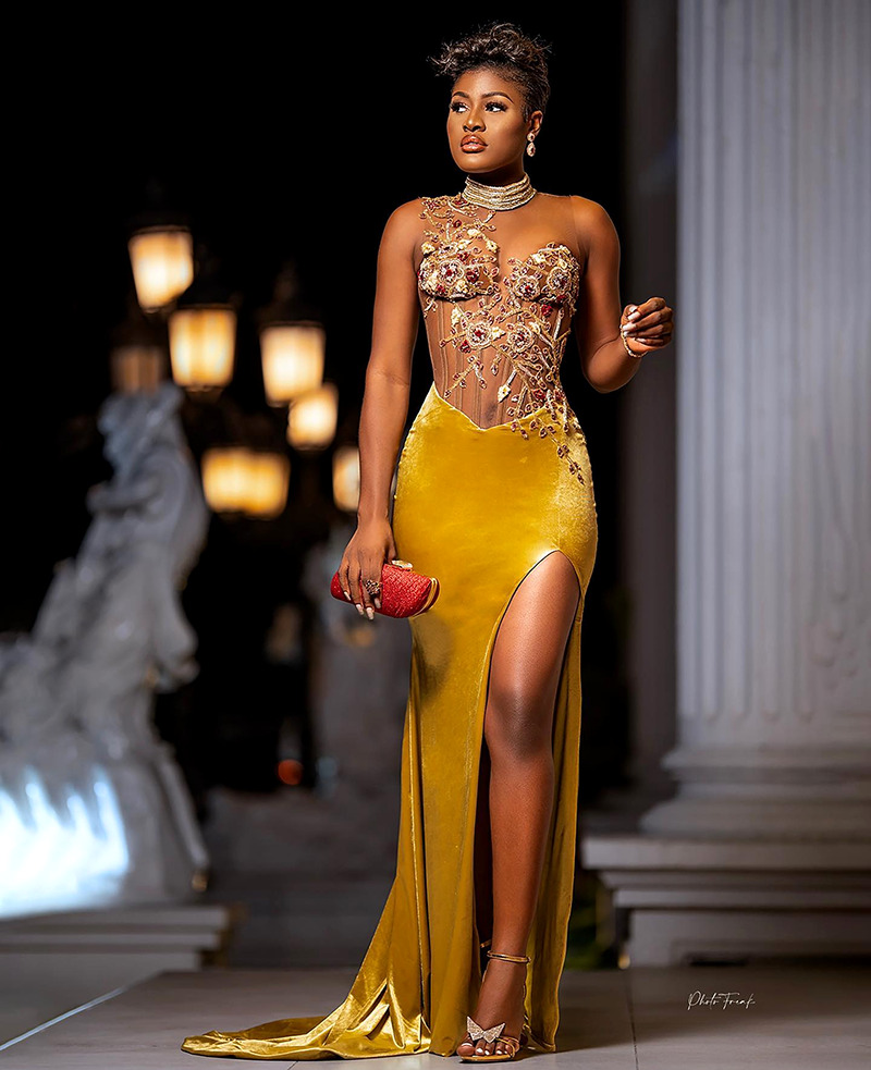 African evening gowns aso ebi