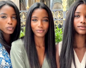 #MODELCRUSH: Check Out The Stunning Black Triplets Set To Blow Up In The Fashion Industry; Andrea, Angel & Sarah Kok