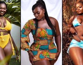 #MODELCRUSH: Stunning Ghanaian Plus Size Model Sharon Weseh Ayikwerah Is Perfect For The International Market