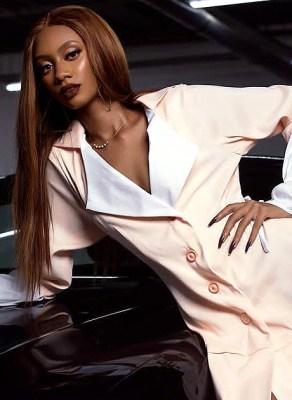 Award Winning Ghanaian Model Tashana Bags Campaign Deal For Angelina Scissora 'SUMMER VIBES' Collection