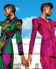 VIDEO: These Elegant African Print Suits By Enagancio Are Mouth Watering Haute!