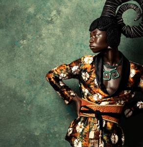 #HOTSHOTS: Ghanaian Model Matthew Osei Dazzles In An Outstanding 'Beyonce-Like' Bewildering Editorial