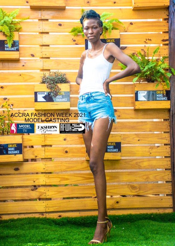 Accra Fashion Week 2021 model casting