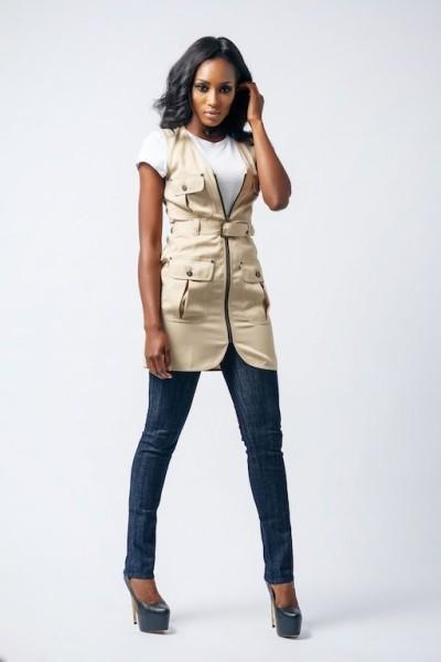 AD by Agbani Darego Affordable Luxury Lookbook December 2013 FashionGHANA African fashion (8)