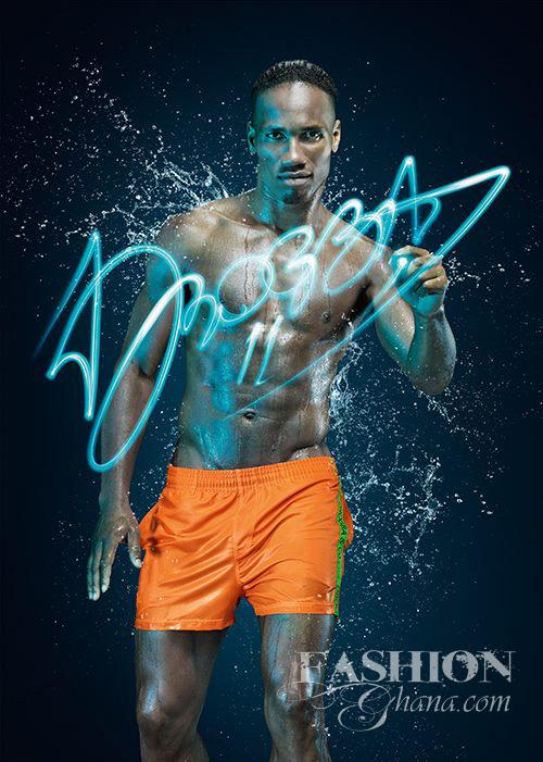 Didier Drogba underwear line label fashion (1)