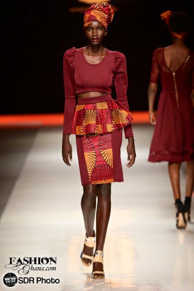 Khosi Nkosi mercedes benz fashion week joburg 2015 african fashion fashionghana (17)