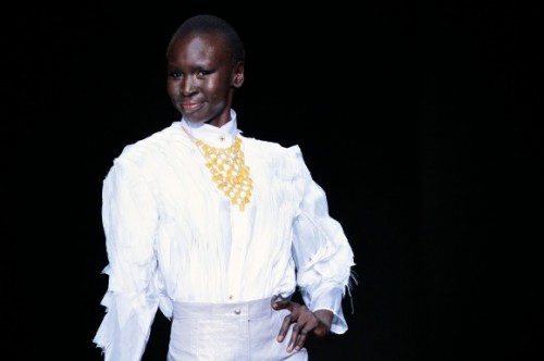 Khothatso Tsotetsi mercedes benz fashion week africa 2013 fashionghana african fashion (14)