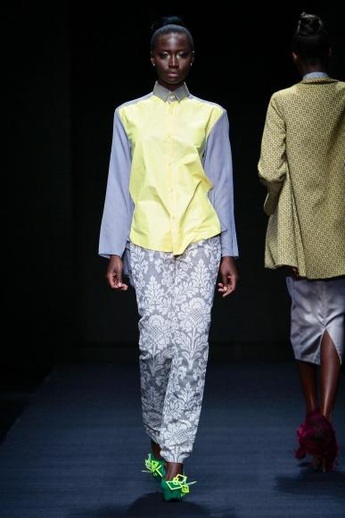 Khothatso Tsotetsi mercedes benz fashion week africa 2013 fashionghana african fashion (9)