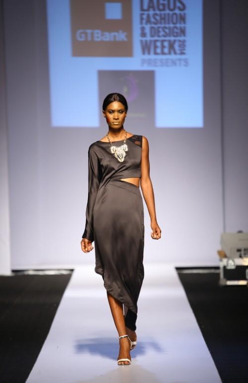 Kiki Kamanu lagos fashion and design week 2014 fashionghana african fashion (8)