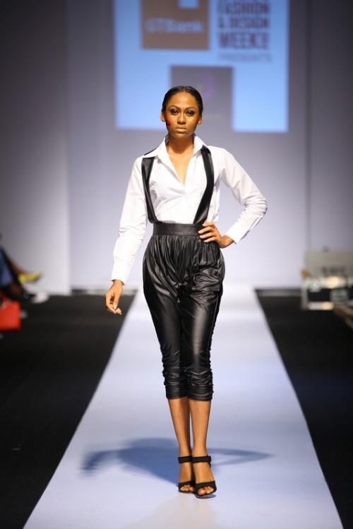Kiki Kamanu lagos fashion and design week 2014 fashionghana african fashion (9)