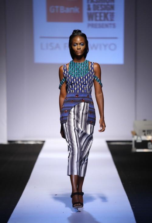 Lisa Folawiyo lagos fashion and design week 2014 fashionghana african fashion (2)