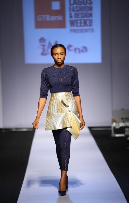 Meena lagos fashion and design week 2014 fashionghana african fashion (7)