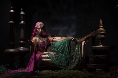 Nigerian model in india (2)