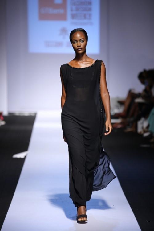 Tiffany Amber lagos fashion and design week 2014 fashionghana african fashion (5)