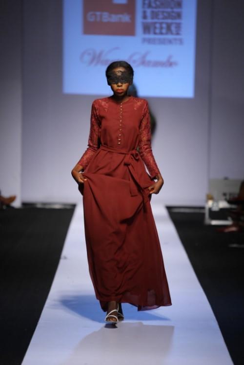 Wana Sambo lagos fashion and design week 2014 fashionghana african fashion (2)