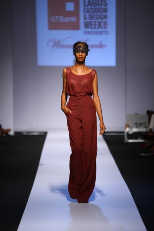Wana Sambo lagos fashion and design week 2014 fashionghana african fashion (5)