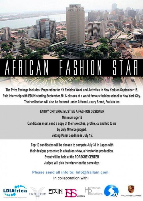 african fashion star