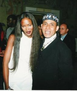 Alphadi and Naomi